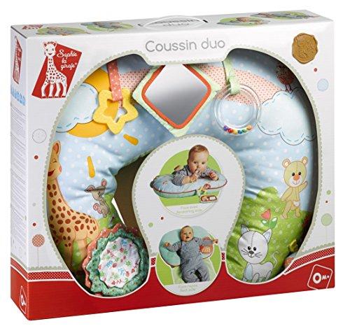 VULLI 240113 Stützkissen/Spielkissen Sophie la girafe, mehrfarbig