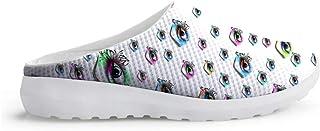 Sandalias con diseño de Ojos Unisex, para Adultos, para el Tiempo Libre, para la Playa
