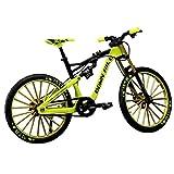 GeKLok Bicicleta de los niños 1:10, Dedo Bicicletas BMX, Finger Mountain Bike, Dedo miniatura Montaña Riding Bike Modelo Juguete Estilo Libre Bicicleta, Mini Modelo de Bicicleta Ornamento