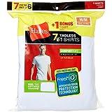 Hanes Men's TAGLESS ComfortSoft A-Shirt 7-Pack...