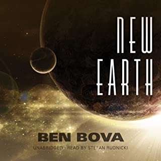 New Earth audiobook cover art