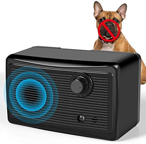 Barking Control Device,Upgraded Mini Sonic Bark Deterrents, 3 Ultrasonic Frequency 30Khz 50 Ft Range 9V Battery ,Anti Bark Training Tool