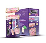 Legendary Foods New Cake Style Tasty Pastry. Bigger, Thicker, Creamier | Low Carb Keto Breakfast | Zero Sugar | Keto Snacks On-The-Go |20g protein|5g Net Carb|170 Calories(Birthday Cake, 2.2oz 8 Pack)