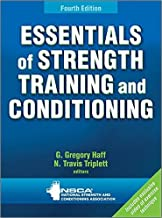 Essentials of Strength Training and Conditioning 4th Edition With Web Resource by 4 edition (Textbook ONLY, Hardcover)