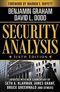 Security Analysis: Sixth Edition, Foreword by Warren Buffett (0071592539) | Amazon price tracker / tracking, Amazon price history charts, Amazon price watches, Amazon price drop alerts