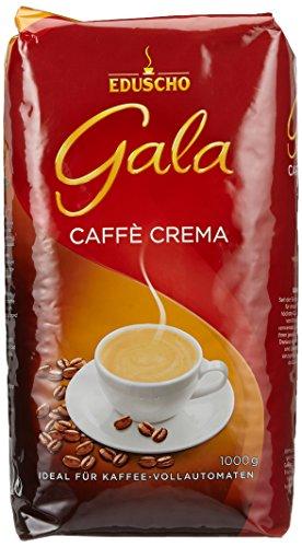 Gala Caffe Crema Bohne Ventil, 6er Pack (6 x 1 kg)