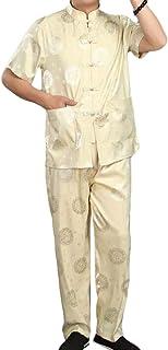 بدلة رياضية رجالي بأكمام قصيرة مطبوع عليها أزهار من SportsX