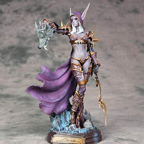 Character Model World of Warcraft Sylvanas Undead Queen Statue Home Office Decoration.700828934197