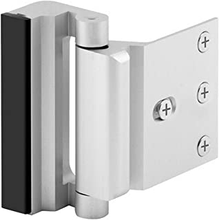 "Best Home Security Door Lock with 8 Screws, Childproof Door Reinforcement Lock with 3"" Stop Withstand 800 lbs for Inward Swinging Door,Upgrade Night Lock to Defend Your Home (Silver) Review"