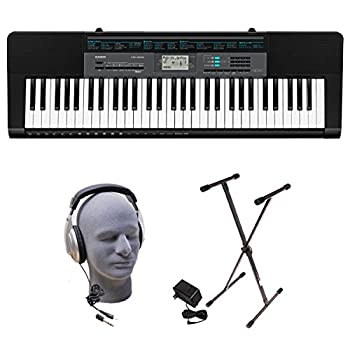 Casio CTK-2550 PPK 61-Key Premium Keyboard Pack with Stand Headphones & Power Supply