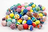 100 x Flummi 27 mm Flummis Springball Hüpfball Ball