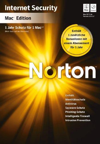 Norton Internet Security MAC 4.1 - 2 PCs - deutsch [import allemand]