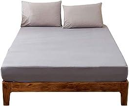 Waterproof Bed Sheet Mattress Cover Anti-Wrinkle Fade Resistant Encasement Elastic Deep Pocket Pocket-Hypoallergenic Breat...