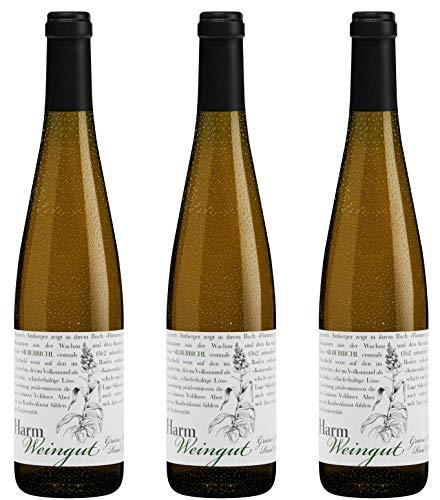 Bio Wein Weißwein Trocken Grüner Veltliner Österreich Wachau 2019 Qualitätswein Vegan Säurearm (3 x 0.75 l)