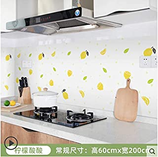 Autocollant mural étanche pour armoire de cuisine carrelée étanche à l'huile pour cuisinière 19