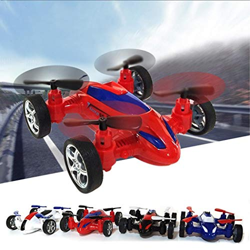 Fandazzie Durable para niños Inertia Toy Flying Car Toy Car Modelo Circuitos y playsets para coches de juguete
