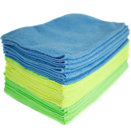 Zwipes 934 Microfiber Towel Cleaning Cloths, 24 Pack