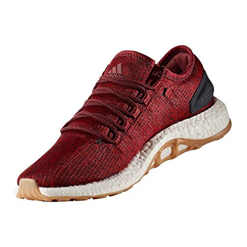adidas Pureboost, Zapatillas de Running para Hombre, Rojo (Nobred/Cburgu Nobred/Cburgu/Cburgu), 49 1/3 EU