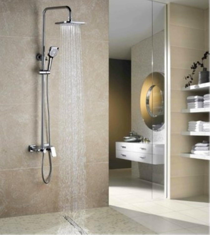 ZHFCluxus - flach - dusche set multifunktionale dusche ganz kupfer