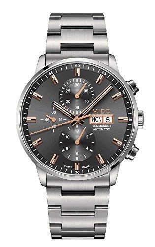 Mido Reloj Multiesfera para Hombre de Automático con Correa en Acero Inoxidable M016.414.11.061.00