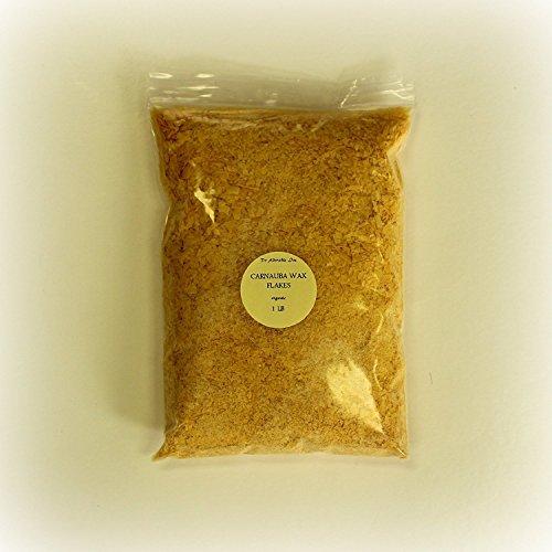 Carnauba Wax Organic 1 Lb/ 16 oz