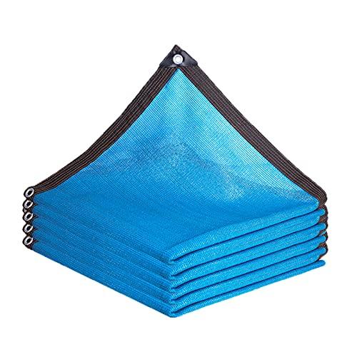 Protección Solar Malla de Sombra 4x12m, Red de Sombreado A Prueba de Polvo, Solar Sombra Paño con Ojales 8 Pines FáCil de Colgar para Jardín Invernadero Balcón Techo