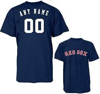 Custom Boston Red Sox Replica Jersey T-Shirts