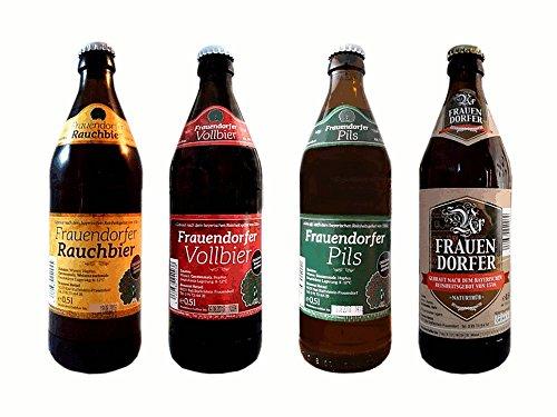 Fränkisches Bier Set Frauendorfer Bier Spezialitäten 8 Flaschen fränkisches Bier