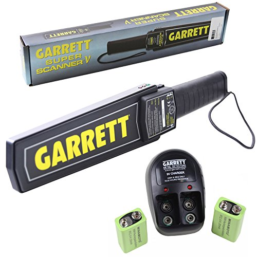 Garrett Super Scanner V Hand Held Metal Detector...