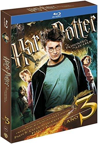 Harry Potter. El Prisionero De Azkaban. Nueva Edición Con Libro Blu-Ray [Blu-ray]