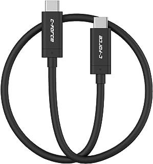 【国内正規品】C-Force CCJT01 USB3.1 USB-C to USB-C ケーブル 1m 10Gbps 3.0A (Nintendo Switch対応)