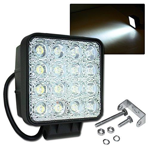 Hengda® 10x 48W LED Offroad Scheinwerfer Arbeitsscheinwerfer 10-30V DC IP67 Traktor Arbeitsleuchte
