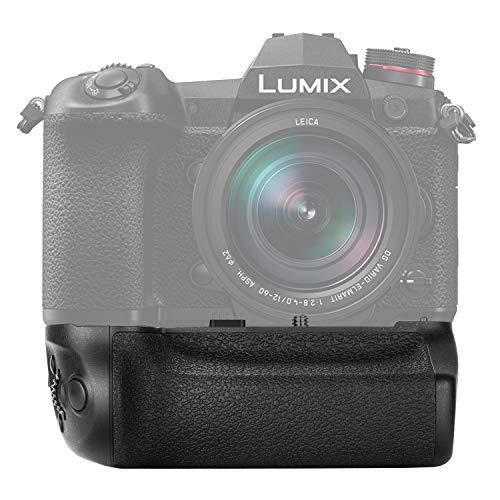 Neewer Batteriegriff kompatibel mit Panasonic Lumix G9 Kamera Ersatz für DMW-BGG9 mit Auslöser Fokuspunktsteuerung Joystick Arbeit mit 1 DMW-BLF19E Liion Akku (Batterie nicht enthalten)