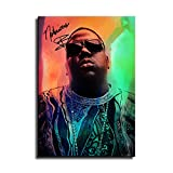 The Notorious Big Rapper Leinwand-Kunst-Poster und