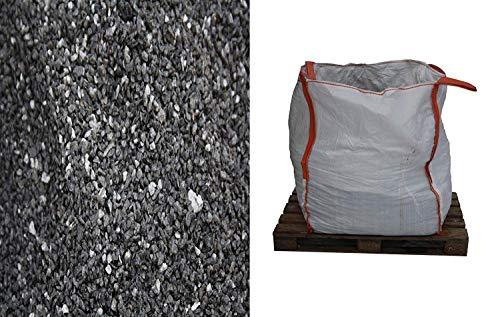 Basalt Fugensplitt/Verlegesplitt 1-3mm als Probenpaket 3kg oder im Big Bag 850kg (Pallettenlieferung). (Probepaket 3kg)
