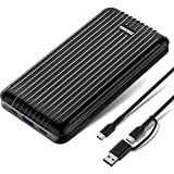 Zendure A6PD Power Bank con 20100mAh (Resistente, 2-Port Quick Charge 3.0, 45W Power Delivery...