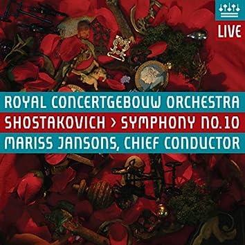 Shostakovich: Symphony No. 10 (Live)