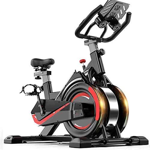 RJJBYY Entrenador De Bicicleta De Ciclismo Interior Ajustable, Bicicleta Estática Profesional Estática, Ejercicio De Resistencia Magnetrón para Entrenamiento De Cardio En Casa