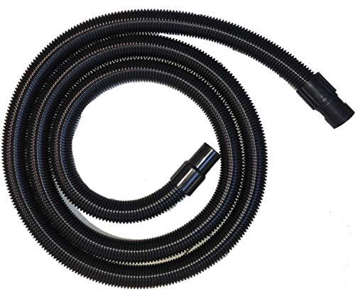 Tubo 5 metri Flessibile ø40 con manicotti per Aspirapolvere e Aspiraliquidi valido per marchi Ghibli, Wirbel, Maxiclean, Synclean, TMB
