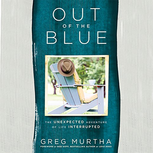 Out of the Blue audiobook cover art