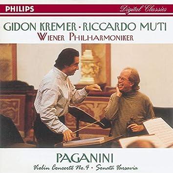 Paganini: Violin Concerto No.4/Suonata Varsavia
