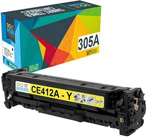 Do it Wiser Remanufactured Toner Cartridge Replacement for HP 305A 305X CE410X CE411A CE412A CE413A HP Laserjet Pro 400 Color MFP M451nw,M451dn, M451dw, MFP M475dn, Pro 300 Color MFP M375nw - 4 Pack Photo #6