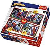Puzzles - '4in1' - In Spider-Man's web