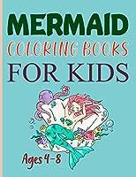 Mermaid Coloring Books For Kids Ages 4-8: Mermaid Coloring Book