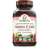 Organic Vitamin C Gold, Whole-food Vitamin C Supplement from Organic Berries and...