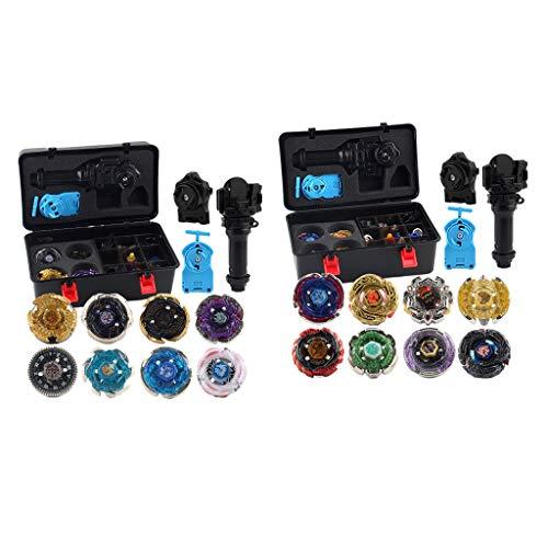 IPOTCH 24x Constellation Gyro Set Rapidity Fight Burst W/Case Kid's Toys Gifts