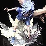 AMrjzr Naruto Curse Seal Sasuke Estatua Modelo en Caja Figura-1 Estilo-33CM...