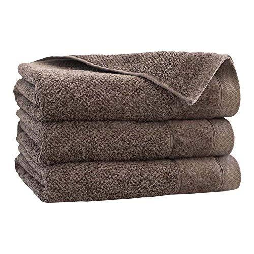 Zwoltex T-SMOOT70X140TAP Smooth Handdoek, taupe, 70x140 Maat