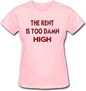 Women's The Rent is Too Damn High T-Shirt