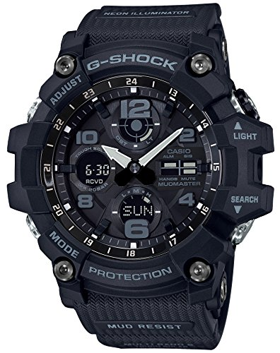 [カシオ] 腕時計 ジーショック MUDMASTER 電波ソーラー GWG-100-1AJF メンズ ブラック